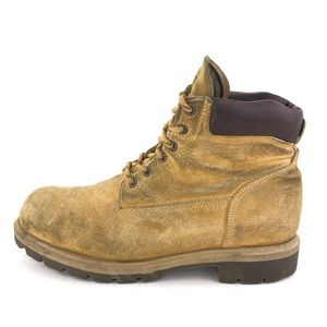 "Wolverine Waterproof 6"" Work Boots 12 W"
